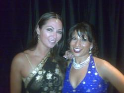 Farah Shah and Tania Zaetta