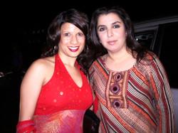 Farah Shah and Farah Khan