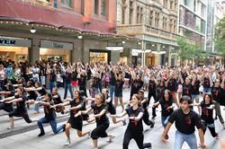 Hearts4Heart Flashmob @ Pitt Street
