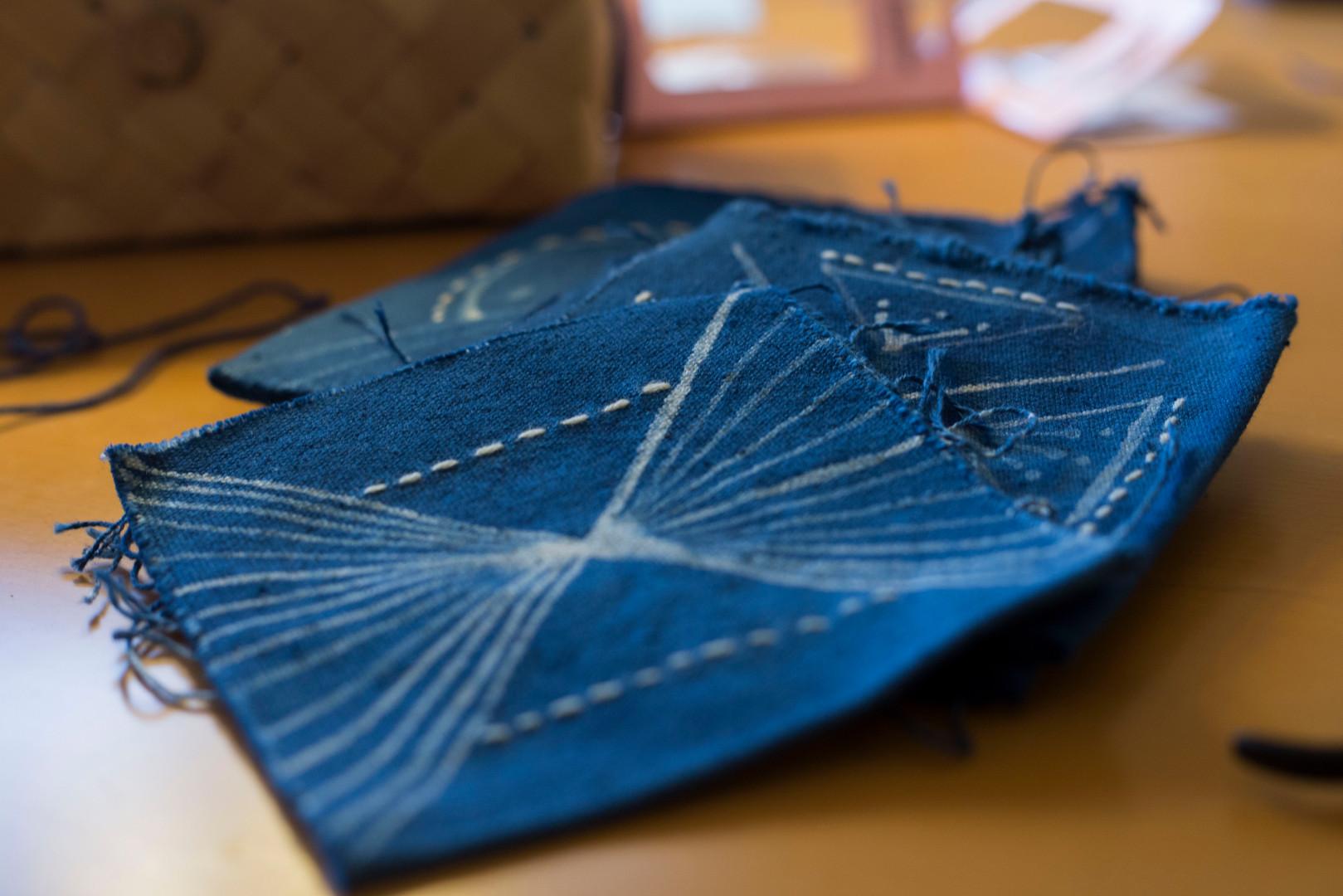 Adding detailing stitch