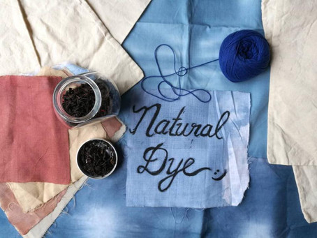 Charity and Natural Dye Exploration