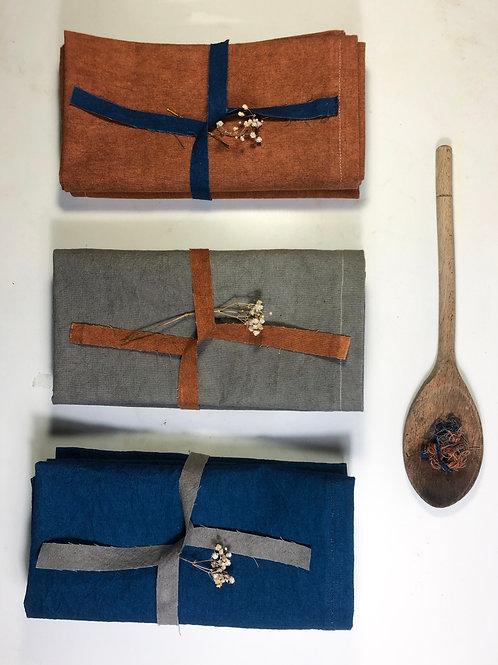 'Belantara' Natural Dye Napkin Set