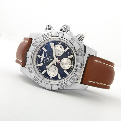 Breitling Chronomat 44 AB011012/B967 Stainless Steel, Leather Strap