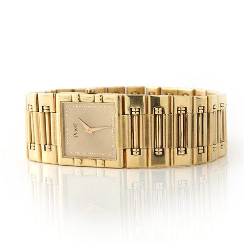 Piaget Dancer Square Watch 18k Yellow Gold 80317k81