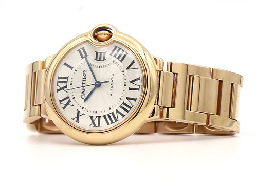 Cartier Balloon Bleu, 36mm Rose Gold REF: WGBB0008