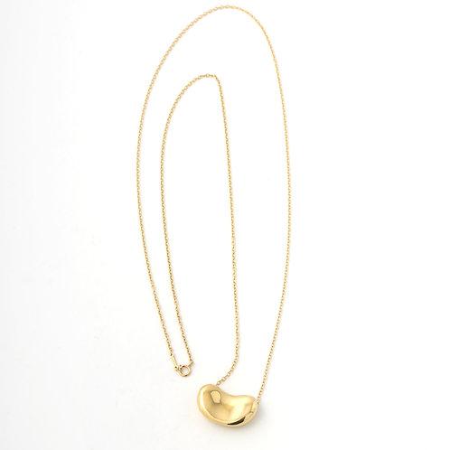 Tiffany & Co. Large Bean Pendant Elsa Perriti 18K Yellow Gold