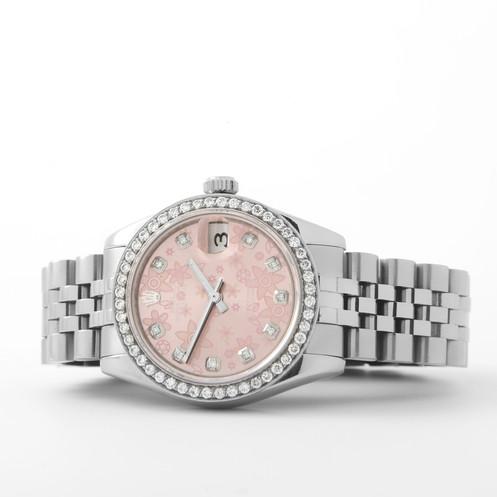Rolex 178274 Ss Datejust 31mm Jubilee Bracelet Diamond Dial Bezel