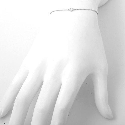 Tiffany & Co. Elsa Perriti Diamond Bracelet PLAT 0.13 CT.