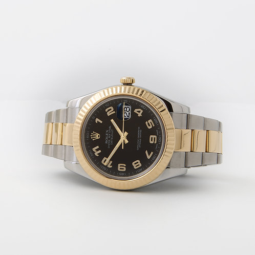Rolex Datejust II Stainless & Gold