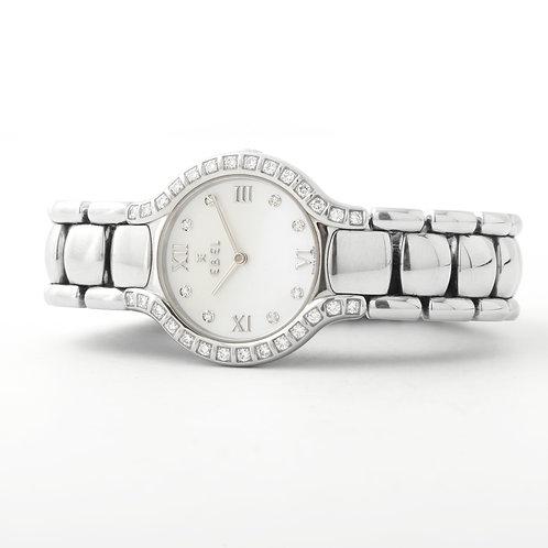 Ebel Beluga Ladies Stainless Steel/ Diamond Watch MOP Diamond Dial