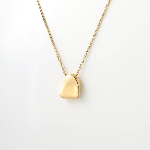 Tiffany & Co. Elsa Periti Bean Pendant 18k Yellow Gold