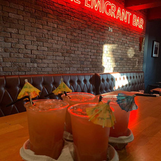 Takeaway Cocktails @ The Emigrant Bar Athy