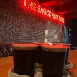 Guinness @ The Emigrant Bar & Restaurant