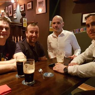 A few lads Chilling @ The Emigrant Bar & Restaurant