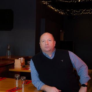 Mark Redmond Proprietor of The Emigrant Bar & Restaurant