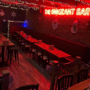 Emigrant Bar & Restaurant Interior