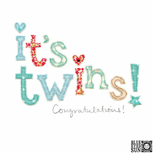 Sew Delightful Twins Card
