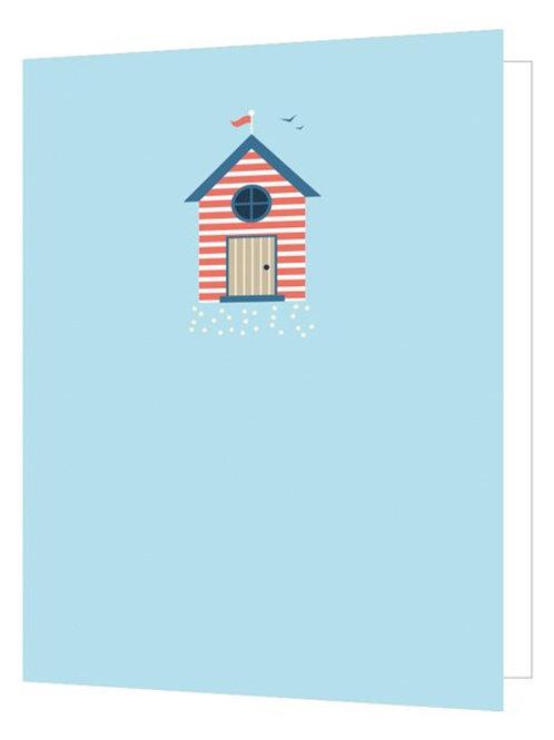 Bright New Things 'Beach Hut' Card