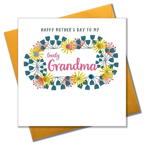 Claire Giles 'Lovely Grandma' Mother's Day Card
