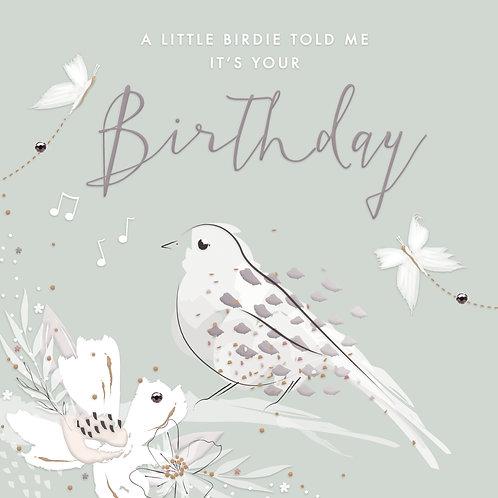 Callista Birthday Birdie Card