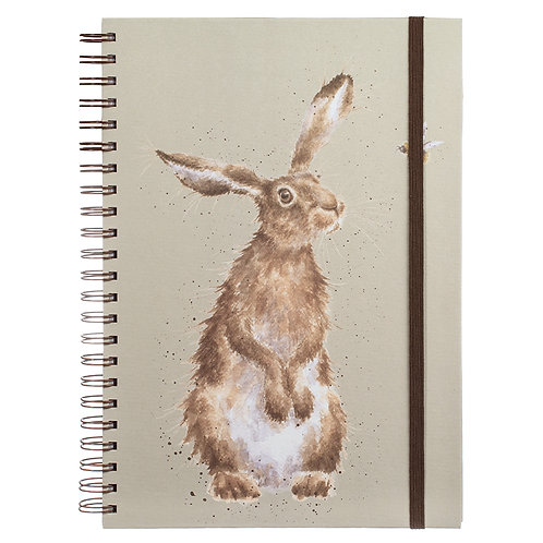 'The Hare and the Bee' A4 Notebook by Wrendale Designs