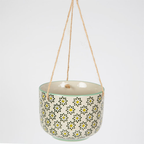 Flowers Ria Hanging Planter by Sass & Belle