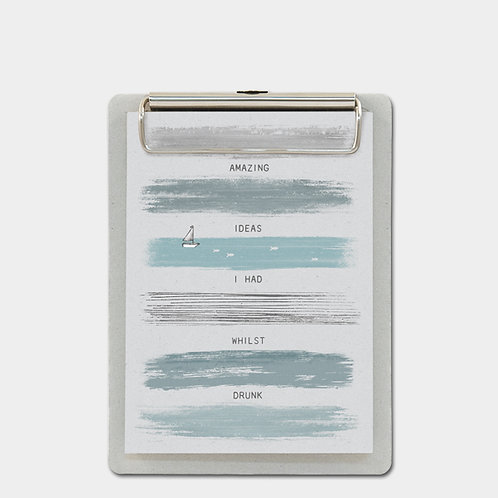 'Amazing Ideas' Clipboard and Notepad