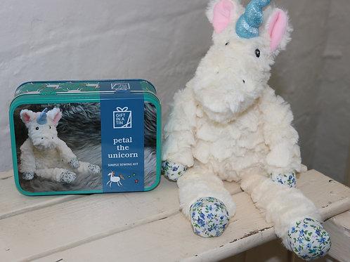 Gift in a Tin:  Petal the Unicorn
