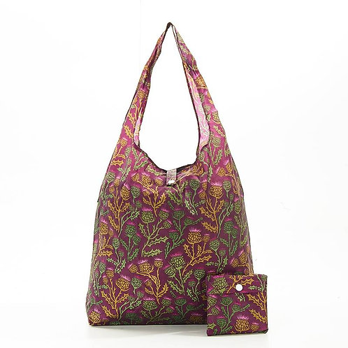 Thistle (Purple) Recycled Shopper by EcoChic