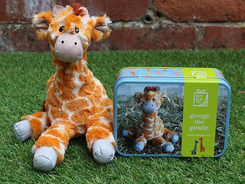Gift in a Tin:  George the Giraffe