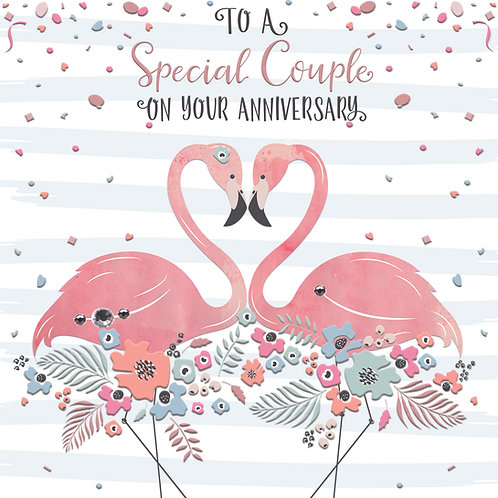 Confetti 'Special Couple' Anniversary Card