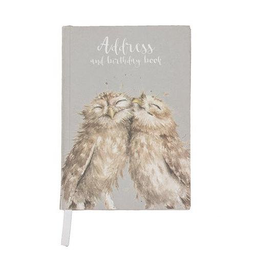 Owl Address & Birthday Book by Wrendale Designs