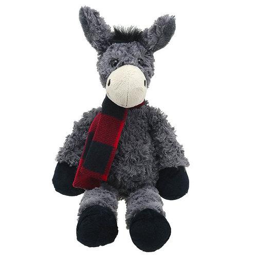 Grey Donkey Soft Toy by Wilberry Toys