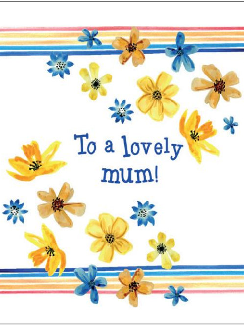 'Lovely Mum' Seed Card by Hannah Marchant