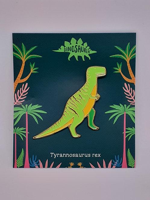 Dinosaur Pin Badge - Tyrannosaurus Rex