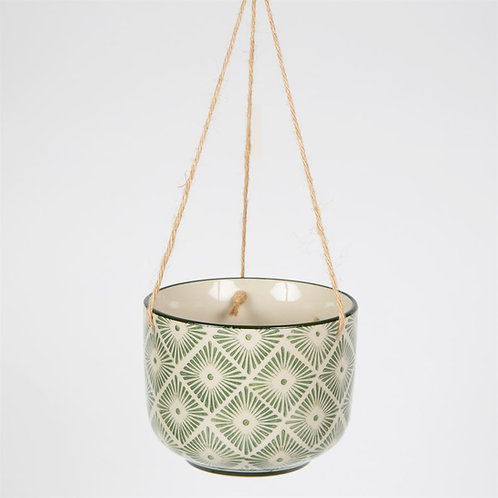 Diamonds Ria Hanging Planter by Sass & Belle