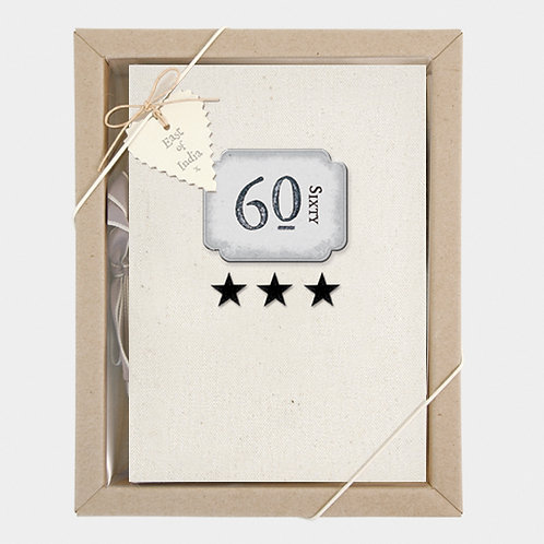 60 Boxed Photo Album