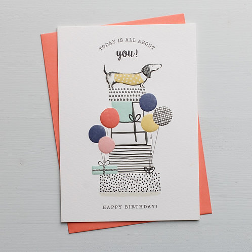 'Call Me Frank' All About You Birthday Card