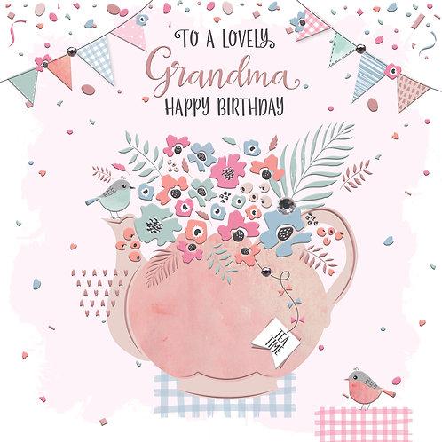 Confetti 'Grandma' Birthday Card