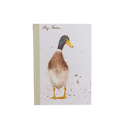 'Guard Duck' A6 Notebook by Wrendale Designs