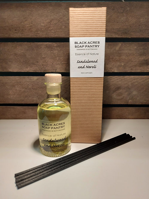 'Essence of Nature' Reed Diffuser by Black Acres Soap Pantry