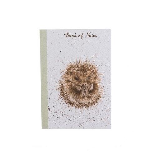 'Awakening' Hedgehog A6 Notebook by Wrendale Designs