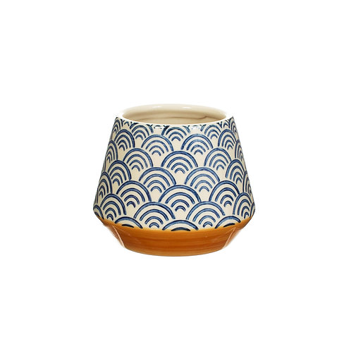Blue Wave Planter by Sass & Belle