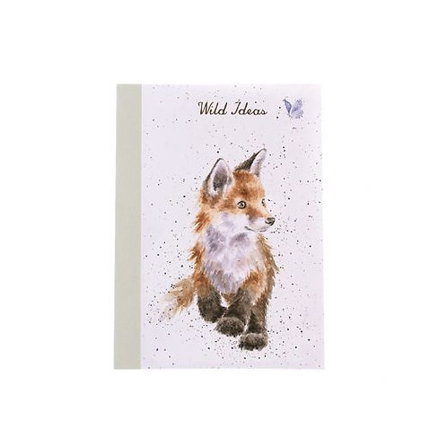 'Born to be Wild' Fox A6 Notebook by Wrendale Designs
