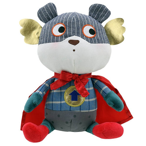 Superhero Bear by Wilberry Toys