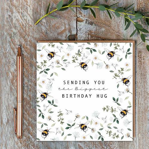 Toasted Crumpet 'Biggest Birthday Hug' Card