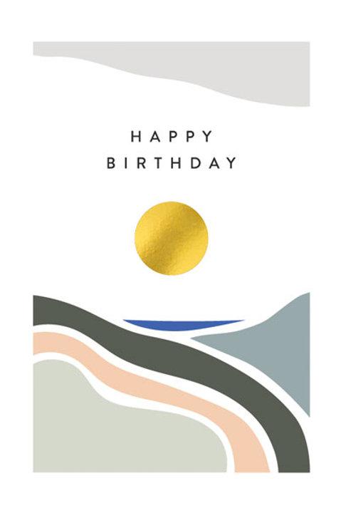 Balance 'Happy Birthday' Card