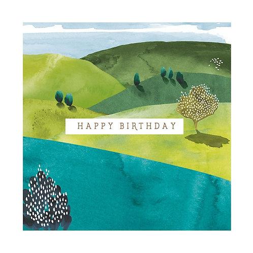 Natural Phenomenon 'Valleys' Card