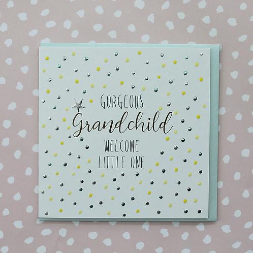 Molly Mae 'Gorgeous Grandchild' Card
