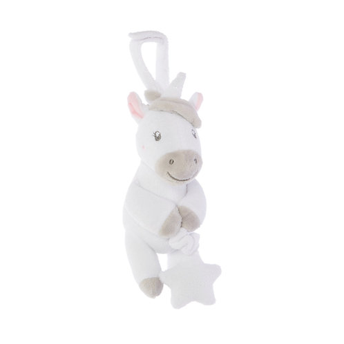 Unicorn Pull-Down Pram Toy by Sass & Belle